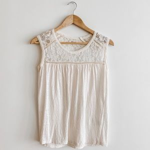 Madewell Lace Top